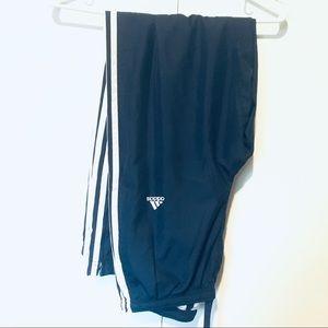 Adidas Windbreaker Pants Navy Mesh Lined